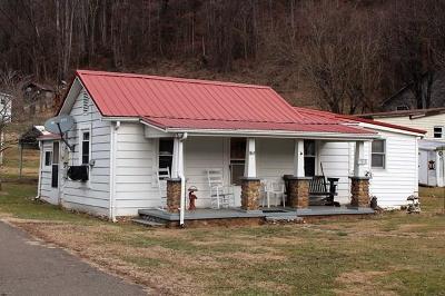 Damascus VA Single Family Home For Sale: $72,500