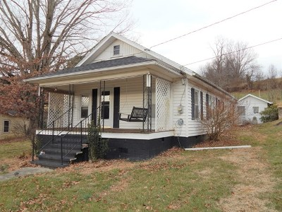 Galax Single Family Home For Sale: 650 Nuckolls Curve
