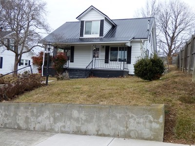 Wytheville Single Family Home For Sale: 1120 Main St