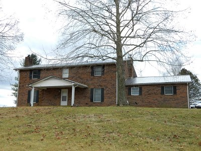 Chilhowie Single Family Home For Sale: 600 Vance Drive