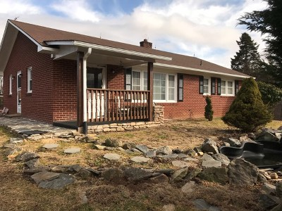 Fries VA Single Family Home For Sale: $110,000