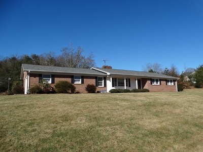 Carroll County Single Family Home For Sale: 6702 Fancy Gap Hwy