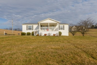 Abingdon Manufactured Home For Sale: 22903 Hunter Brown Lane