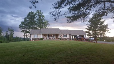 Carroll County Single Family Home For Sale: 452 Breezy Ridge Rd