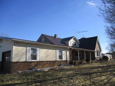 Carroll County Single Family Home For Sale: 1906 Mitchells Crossroads