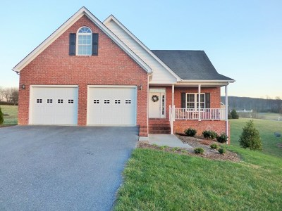Wytheville Single Family Home For Sale: 1745 Monroe St