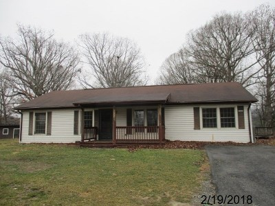 Wythe County Single Family Home For Sale: 445 Sheffey School Rd.