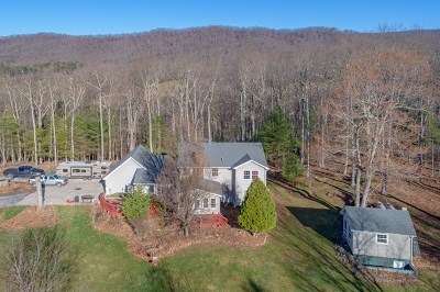 Wytheville Single Family Home For Sale: 2768 Fairview Pkwy