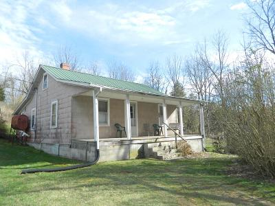 Chilhowie VA Single Family Home For Sale: $65,700