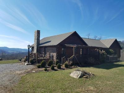 Grayson County Single Family Home For Sale: 1490 Hines Branch Road