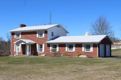 Carroll County Single Family Home For Sale: 39 Beamers Knob Road