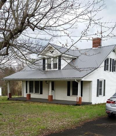 Lambsburg VA Single Family Home For Sale: $94,500