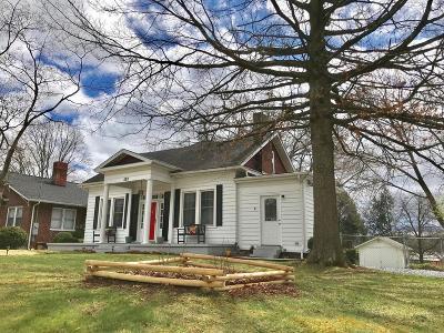 Bristol VA Single Family Home For Sale: $139,850