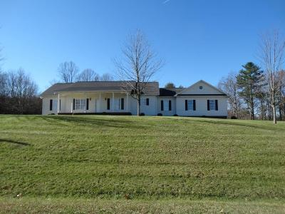 Hillsville Single Family Home For Sale: 3804 Silverleaf Rd