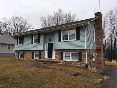 Wytheville Single Family Home For Sale: 485 Jefferson St.