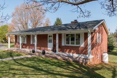 Bristol VA Single Family Home For Sale: $164,000
