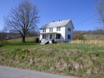 Wytheville Single Family Home For Sale: 3563 Fairview Parkway
