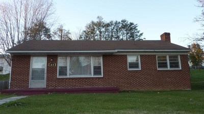 Wythe County Single Family Home For Sale: 400 Valley St