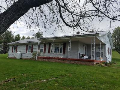 Grayson County Single Family Home For Sale: 653 Skyline Hwy
