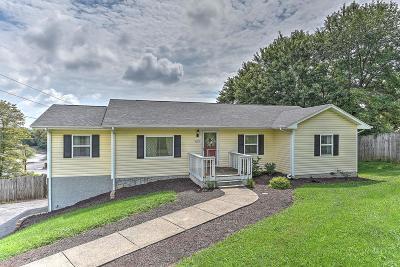 Bristol VA Single Family Home For Sale: $134,500