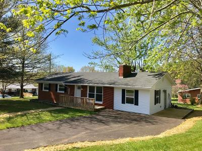 Bristol VA Single Family Home For Sale: $124,850