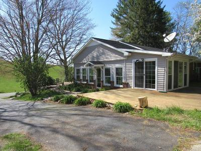 Galax Single Family Home For Sale: 813 Peaks Mountain Rd