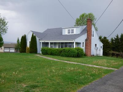 Wythe County Single Family Home For Sale: 750 Cove Road