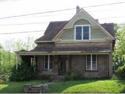 Bristol VA Single Family Home For Sale: $44,500