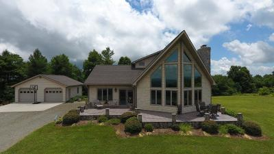 Galax Single Family Home For Sale: 52 Sunset View Ln