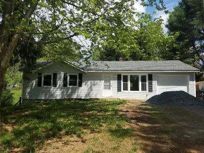Galax Single Family Home For Sale: 821 White Pine Rd