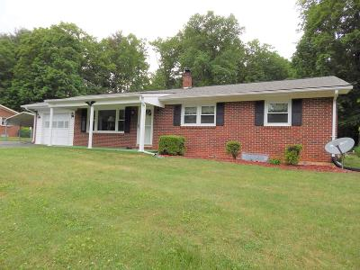 Galax Single Family Home For Sale: 222 Shady Square
