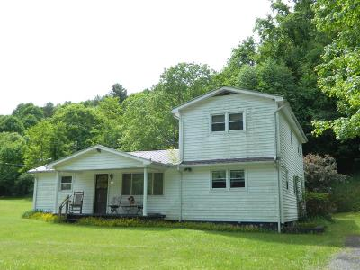 Marion Single Family Home For Sale: 242 Brushy Mountain Road