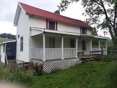 Rural Retreat Single Family Home For Sale: 515 Tobler Road