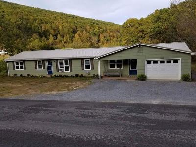 Chilhowie Single Family Home For Sale: 1153 Horseshoe Bend Road