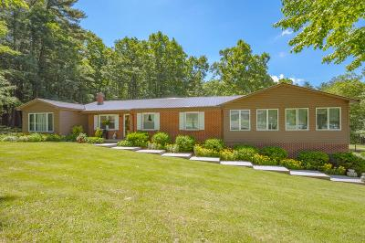 Bland Single Family Home For Sale: 654 Flat Top Rd.