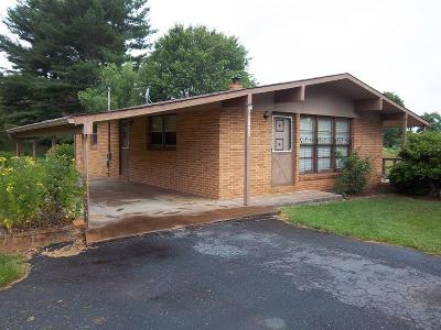 Carroll County Single Family Home For Sale: 2865 Cranberry Rd.