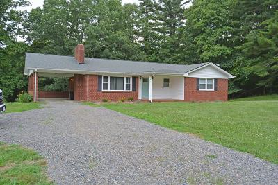 Fancy Gap VA Single Family Home Active Contingency: $154,900