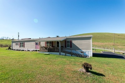 Chilhowie Manufactured Home For Sale: 174 Town Springs Road