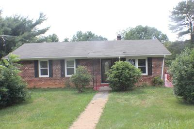 Galax Single Family Home For Sale: 103 Hanks