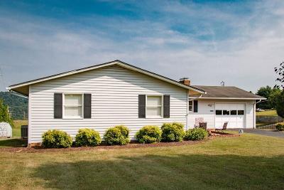 Abingdon VA Single Family Home For Sale: $168,500