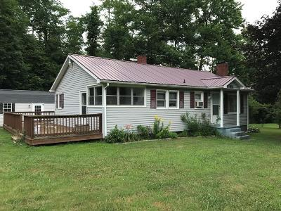 Carroll County Single Family Home For Sale: 5665 Chances Creek Rd.