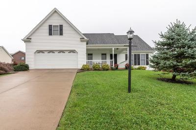 Bristol VA Single Family Home For Sale: $179,900
