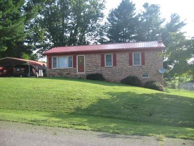 Abingdon VA Single Family Home For Sale: $127,900