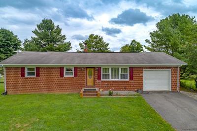 Rural Retreat Single Family Home For Sale: 1188 Cedar Springs Rd