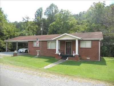 Abingdon VA Single Family Home For Sale: $89,900