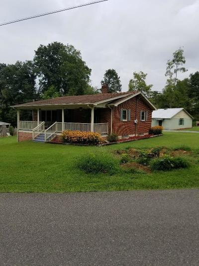 Marion Single Family Home For Sale: 519 Middle Fork Rd.