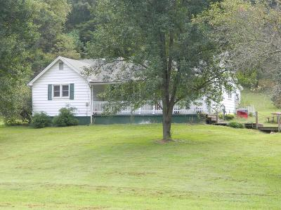 Chilhowie VA Single Family Home Active Contingency: $97,000