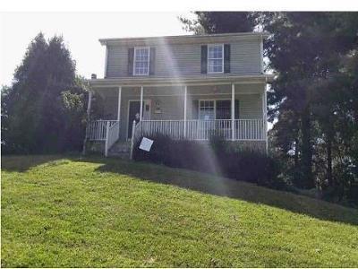 Abingdon VA Single Family Home For Sale: $159,000