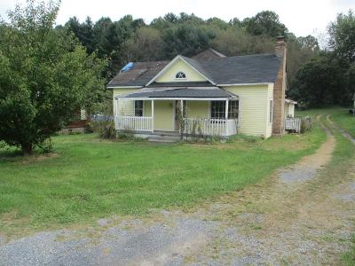 Chilhowie VA Single Family Home For Sale: $34,900