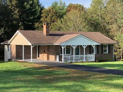 Grayson County Single Family Home For Sale: 2614 Peaks Mountain Rd